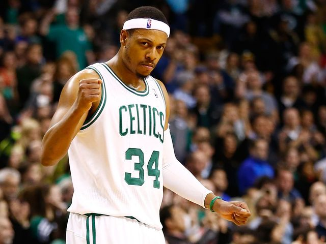 What team did Pierce not play for after leaving the Celtics?