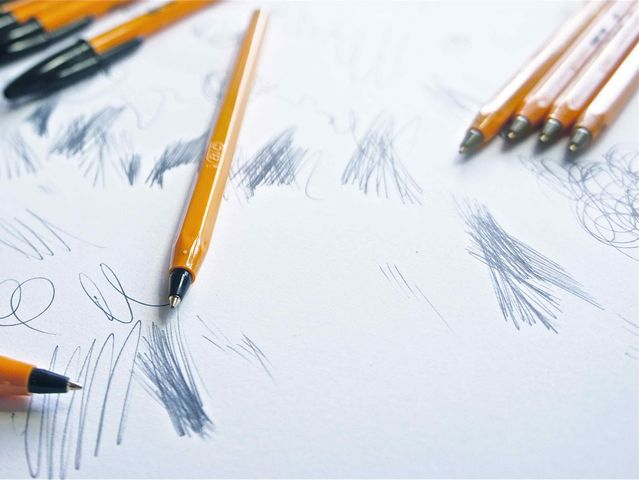 One BIC ballpoint pen could draw a continuous line 9,504 feet long!