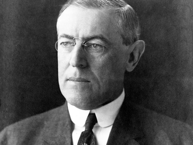 President Wilson earned a PhD in political science and history from Johns Hopkins University