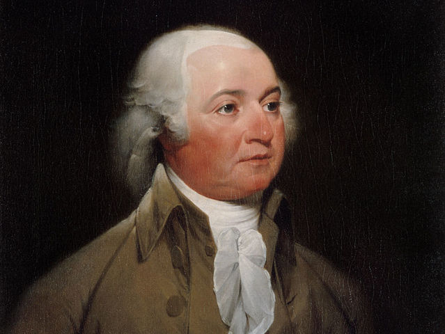 Adams served from 1797 until 1801