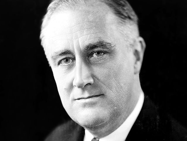 FDR was elected four times and served three full terms before dying on the 83rd day of this fourth term. The two-term limit was added to the constitution six years later.