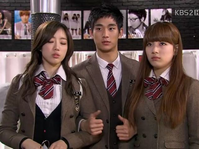 "What was the name of the art school that the students attended in ""Dream High""?"