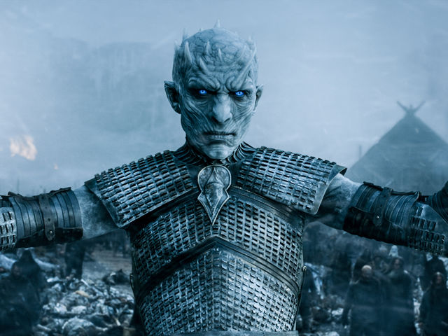 What is the only kind of steel that can destroy a white walker?