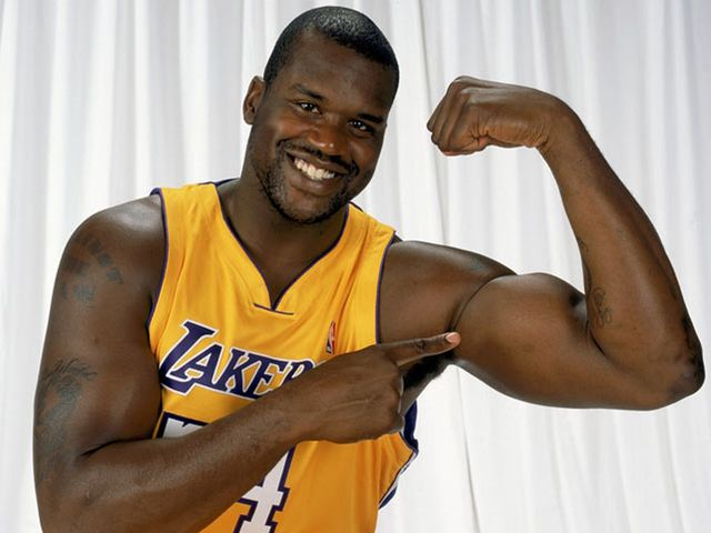 Shaquille O'Neal?