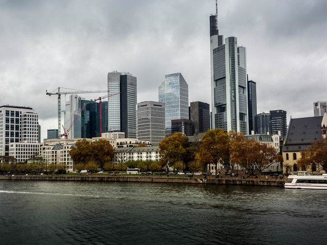 Frankfurt, Germany, has one of the most iconic skylines in the country and Europe
