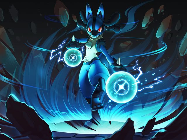 Lucario is half fighting-type and half what?