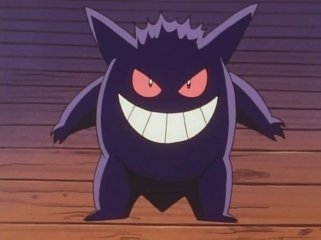 Gengar is half ghost-type and half what?