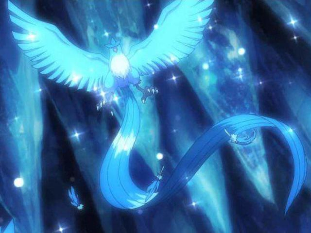 Articuno is half ice-type!
