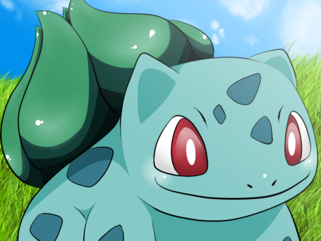 Bulbasaur is half grass-type and half what?