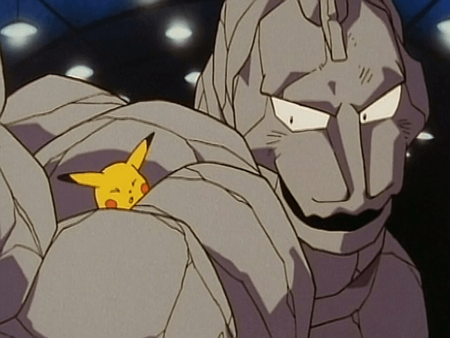 Onix is half rock type and half what?