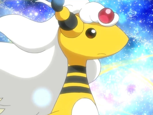 Mega Ampharos is half electric and half what type?