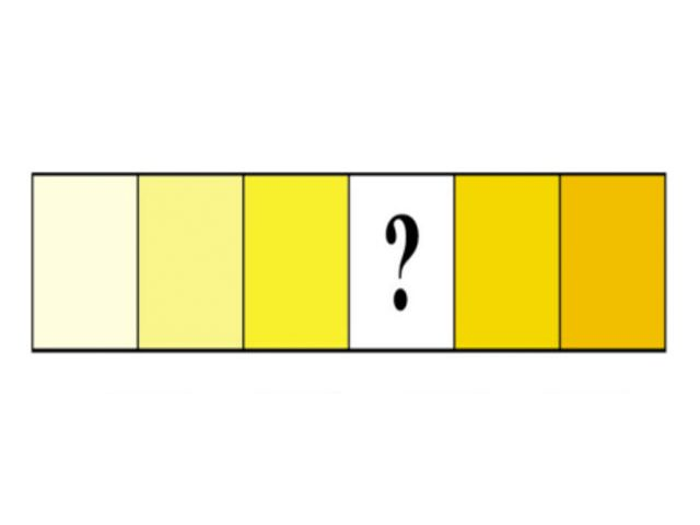 Which color naturally fits into the series?