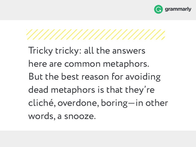 Simile And Metaphorwhats The Difference Grammarly