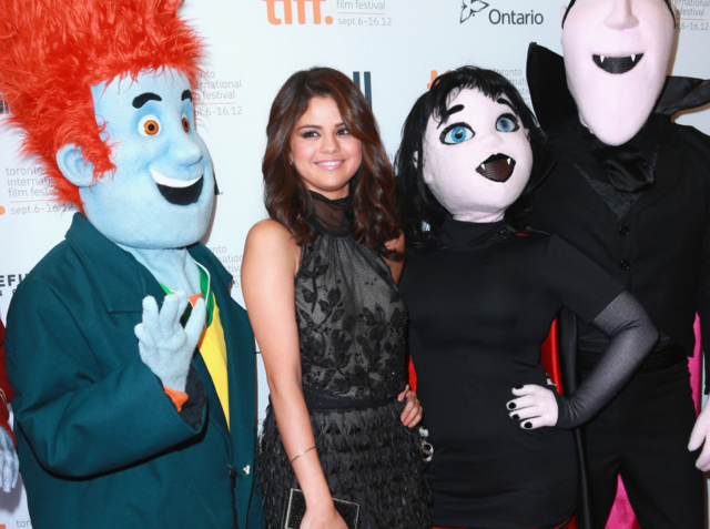 What is the name of the character Selena plays in Hotel Transylvania?