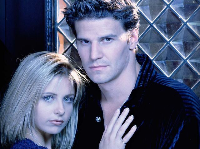 Buffy's first vampire boyfriend was so popular he got his own show that ran concurrently with Buffy the Vampire Slayer and about a year after.
