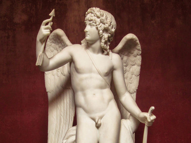 Cupid is the Roman god of love. What is his Greek name?