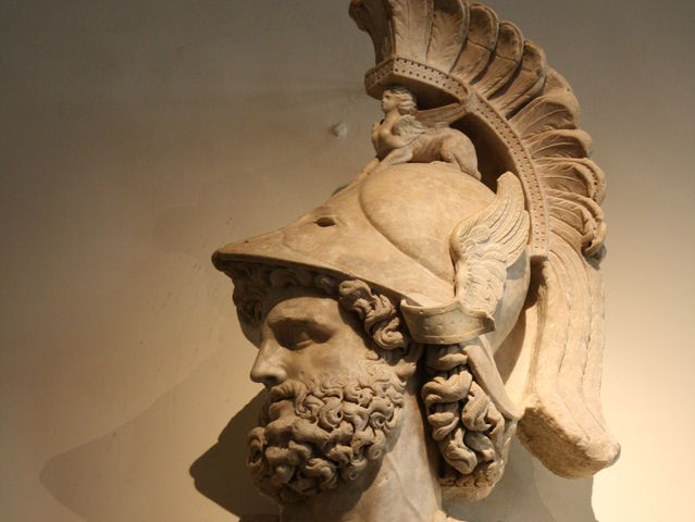 Ares is the Greek god of war.
