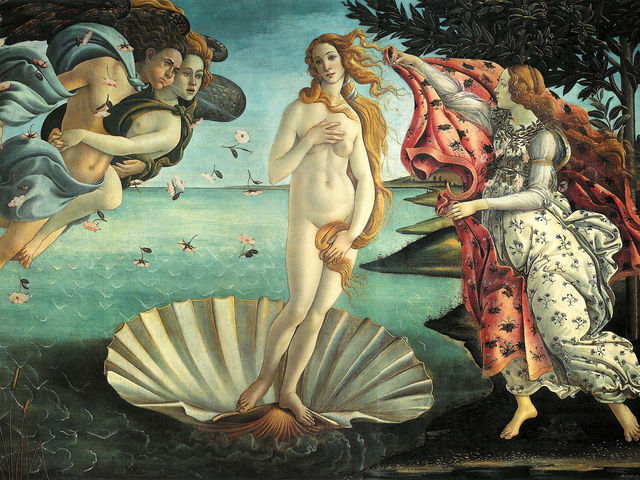 Venus is the Roman goddess of love. What is her Greek name?