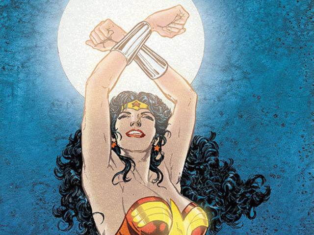True or False: Wonder Woman was the first DC superhero to officiate a same-sex marriage.