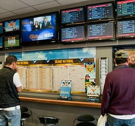 A betting shop