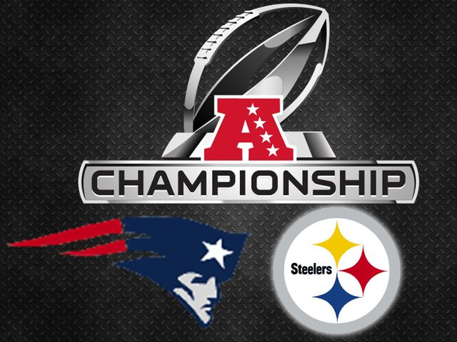 The Steelers and Patriots have each won eight AFC titles, but who has appeared in more AFC Championship games overall?