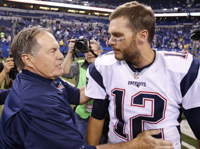 In 16 seasons together, Belichick and Brady have made the AFC title game a record 11 times