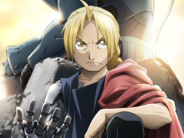 Who is the younger brother of Edward Elric in the anime Fullmetal Alchemist?