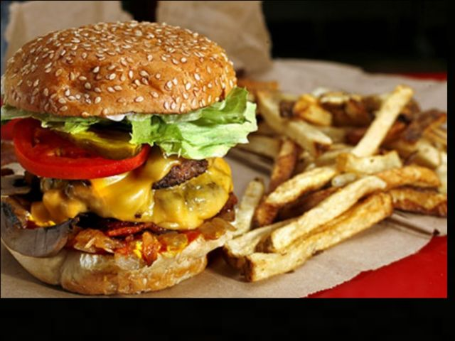 Where would you find this tasty burger?
