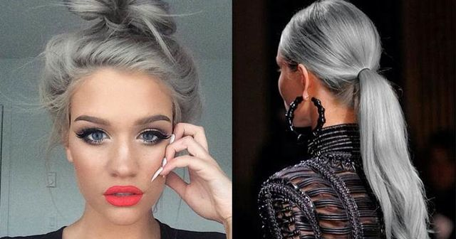 can you dye your hair grey