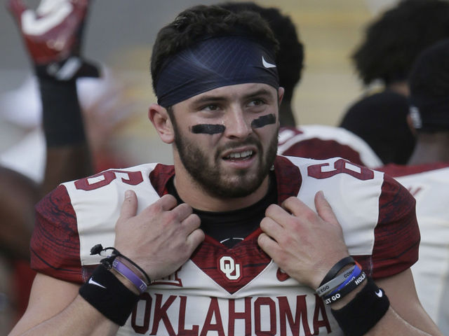 Mayfield is the first ever walk-on freshman to: