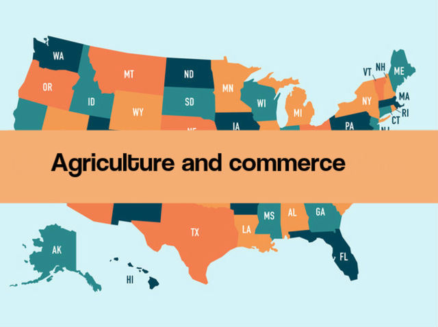 Agriculture and commerce