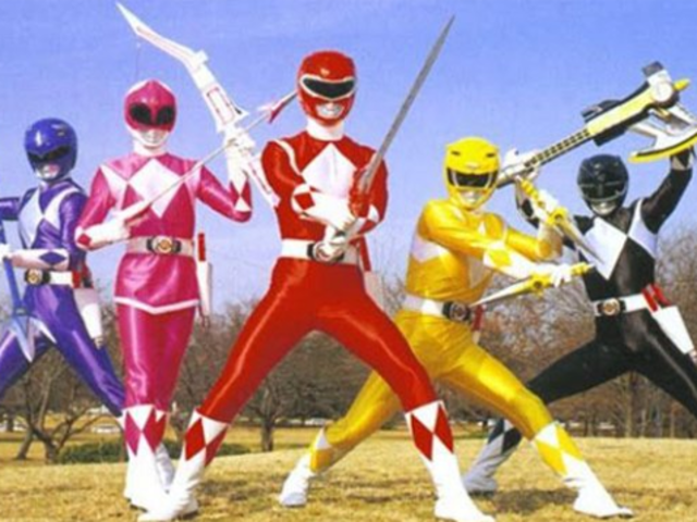 What was the name of the Japanese television franchise that the American version of Power Rangers was loosely based on?