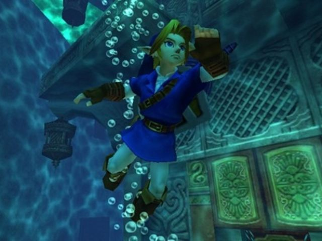 What item allows Link to dive deeper underwater?