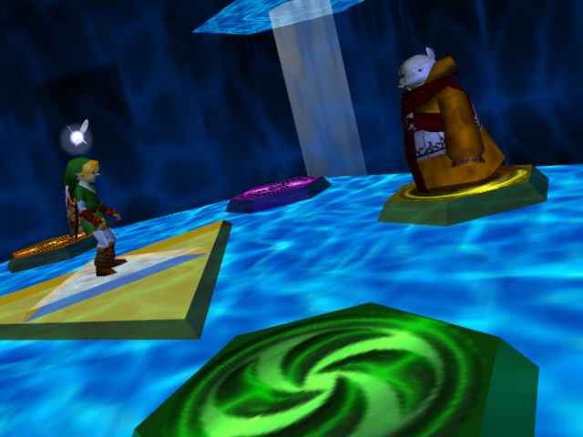 To protect him from Ganondorf: the Sages held Link within the Sacred Realm for how many years?