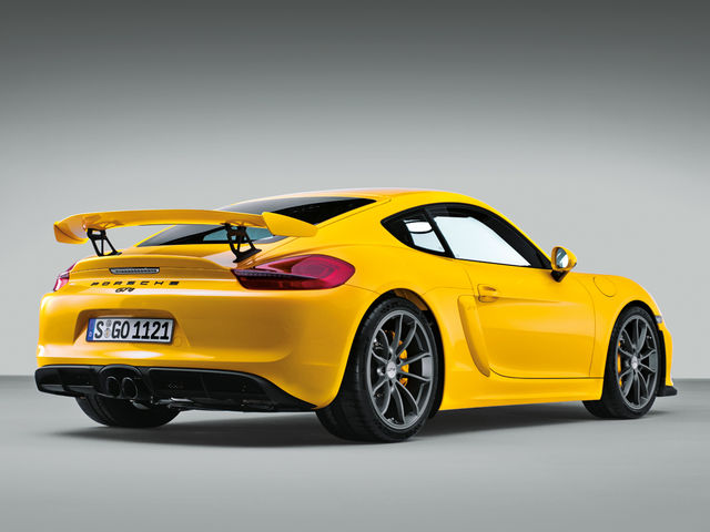 The Porsche Cayman GT4 was only offered with a six-speed manual transmission