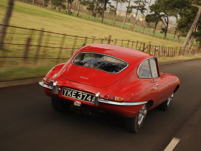 The Iconic Jaguar E-type, widely regarded as one of the most beautiful cars ever built