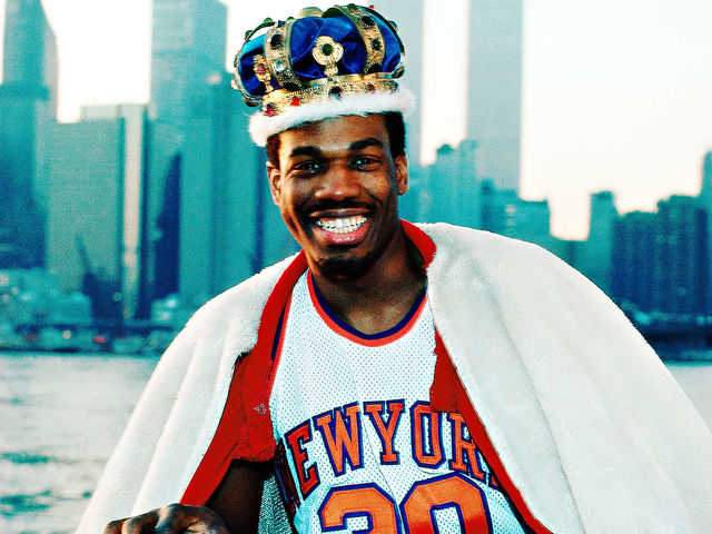 How many seasons did Bernard King spend as a Knick?