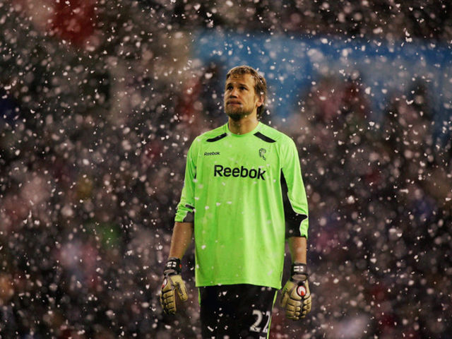 The Finnish keeper was almost an ever-present during Bolton's time in the top flight, racking up 379 PL appearances