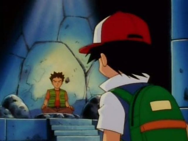 Brock was a gym leader at which city?