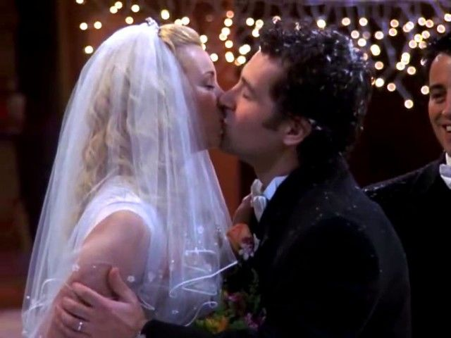 Where do Phoebe and Mike get married?