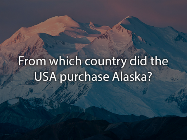 The United States purchased Alaska from the Russian Empire on March 30 1867, for 7.2 million U.S. dollars.