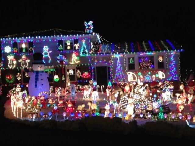 decorating ones house and yard dates back further than you might imagine where were the - Outdoor Christmas Decorations Nj