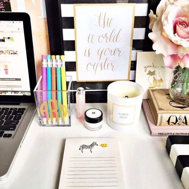 Would you consider your desk to be an organized space?