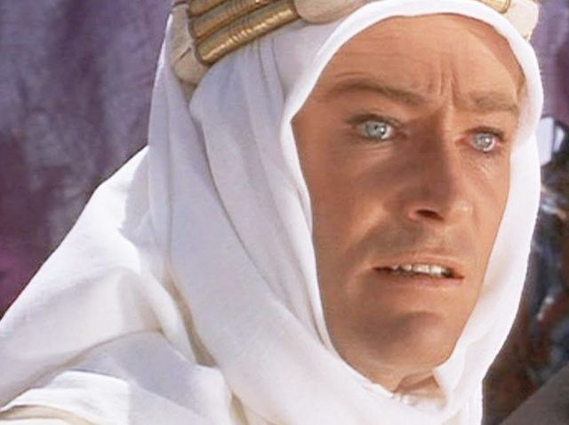 Lawrence of Arabia premiered in 1962. My Fair Lady came out in 1964, and Once Upon A Time In The West didn't happen until 1968.