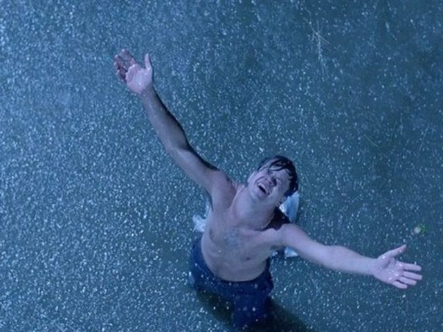 The Shawshank Redemption came out in 1994. Both The Truman Show and Pleasantville debuted in 1998.