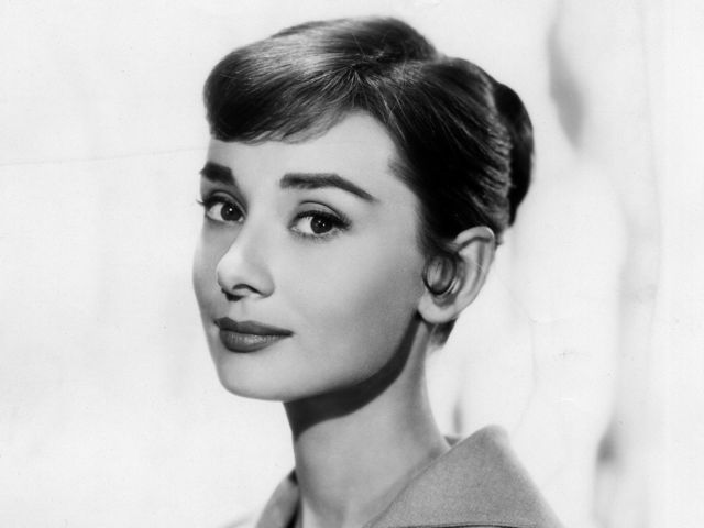 This actress as a fashion icon and for her roles in Roman Holiday and Breakfast at Tiffany's