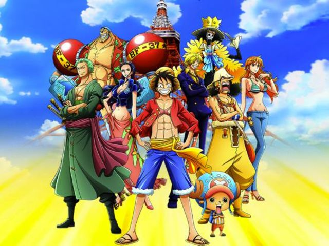One Piece is the best selling manga series with 345 million copies sold worldwide.