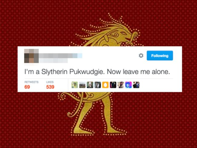 Who's embodying all the best Slytherin-Pukwudgie traits?