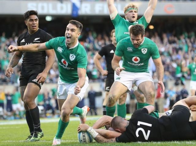 The week after the Cubs broke a 108-year drought, Ireland upset the All Blacks in Chicago, ending a 111-year losing streak against New Zealand.