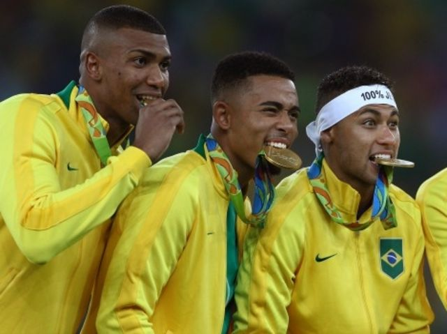 Brazil, five-time FIFA World Cup champions, added to their football (soccer) legacy at Rio 2016 by winning Olympic gold for the _______ time?